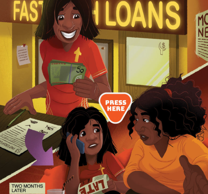 Payday Loans Talking Posters